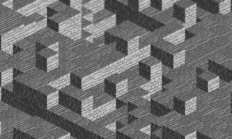 Bump mapping + Phong shading