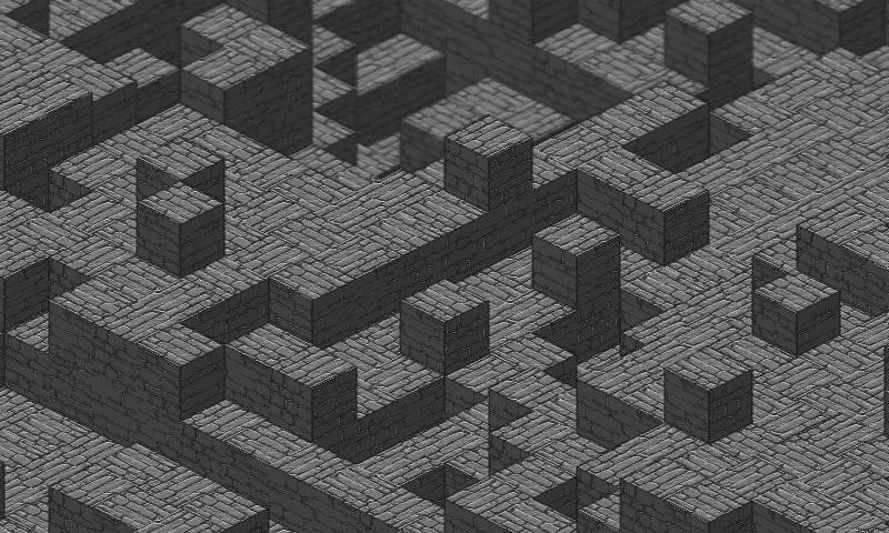 Edge detection + Phong shading